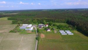 Zdjęcie Fundacji z drona